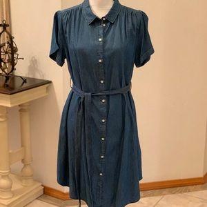 MAMA H&M Jeans Dress, Size M